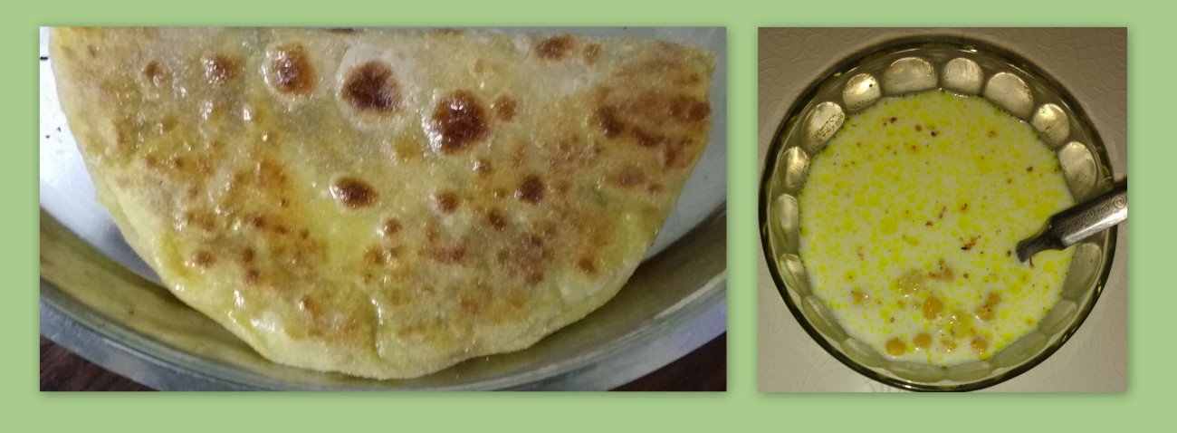 Puran Poli and Puran Kheer