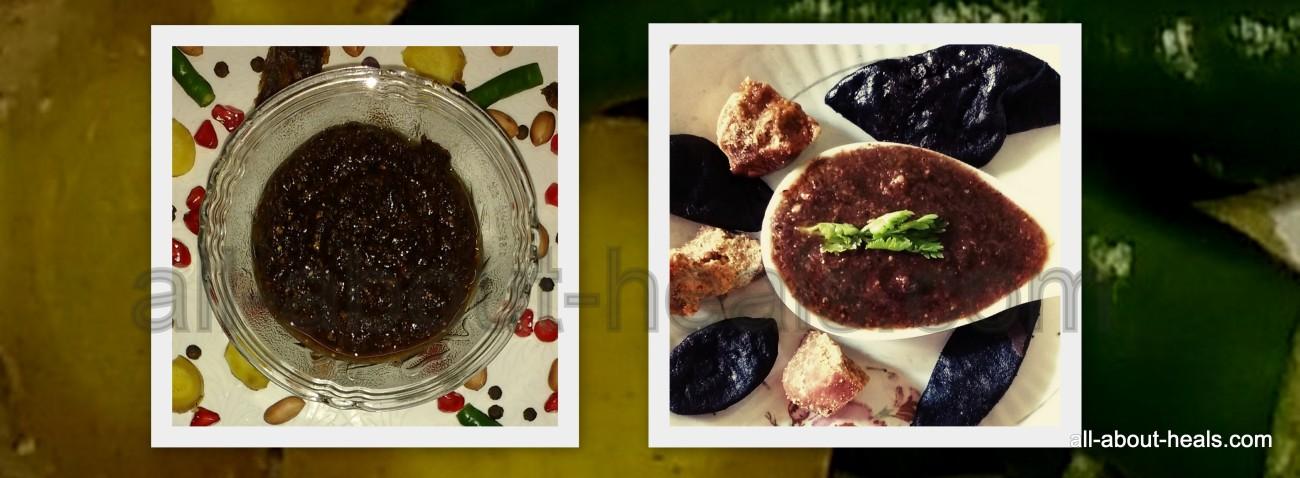 Garcinia Indica Sauce/ Kokum Chutney