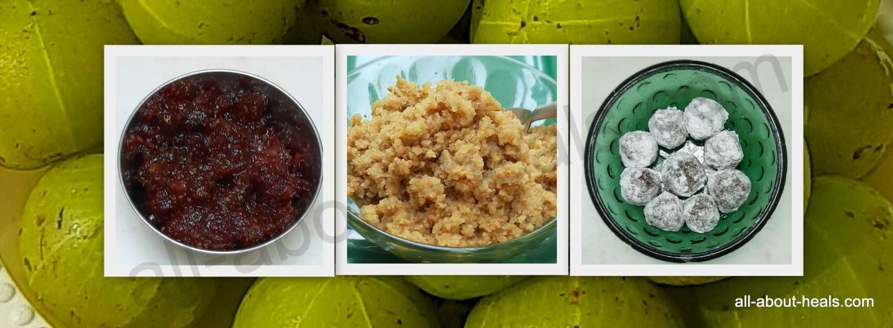 Awala Sweet & Plain Chutney / Gatagat