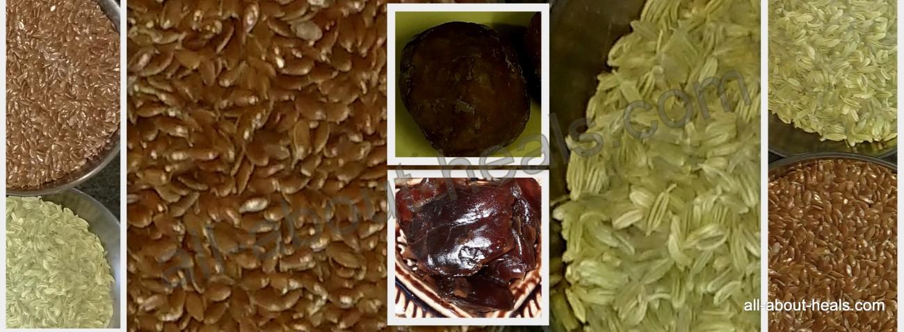 Healthy Flaxseeds Laddu