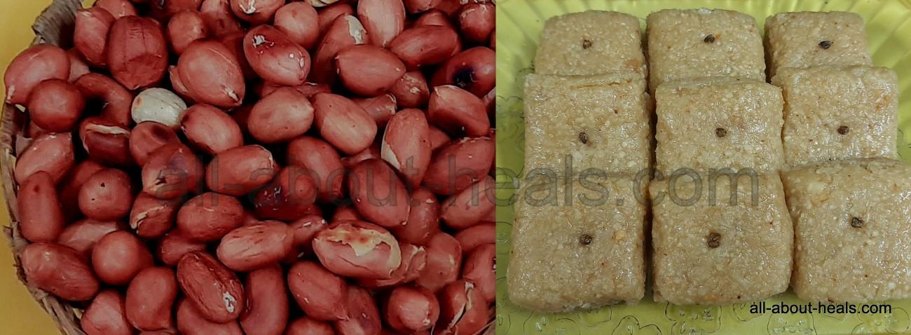 Peanuts Cubes / Barfi